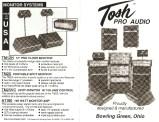 Tosh Pro Audio leaflet, page 1
