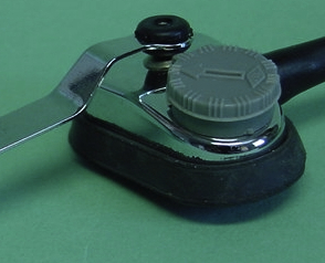 Model 700 Violin and Model 800 Flat-top roundhole guitar transducer pickup. This combined potentiometer and integral grey knob is marked marked CTL