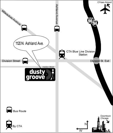Dusty Groove Records, black music nel cuore di Chicago