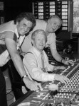 Johnny Cash, Roy Acuff and Jack Clement. Photo: Alan Mayor