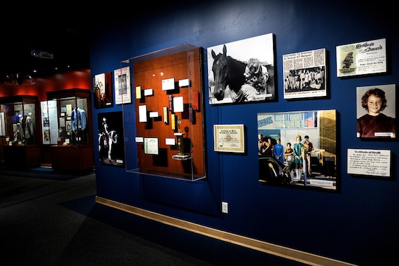 Photos and memorabilia from the 'Reba: All The Women I Am' exhibit at the Country Music Hall of Fame.