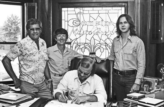 "Pictured (L-R): Bob Beckham, Johnny ""Dog"" McRae, Jon Wilson and Steve Singleton"