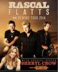 Rascal Flatts Plot Tour With Sheryl Crow