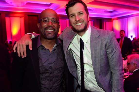 Darius Rucker, Luke Bryan, Photo: Rick Diamond/Getty Images