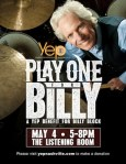 Billy Block Fundraiser 'Play One For Billy' Slated For May 4