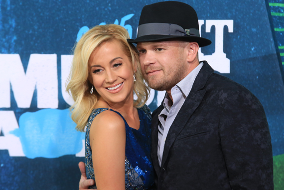 Pictured (L-R): Kellie Pickler, Kyle Jacobs. Photo: Bev Moser.