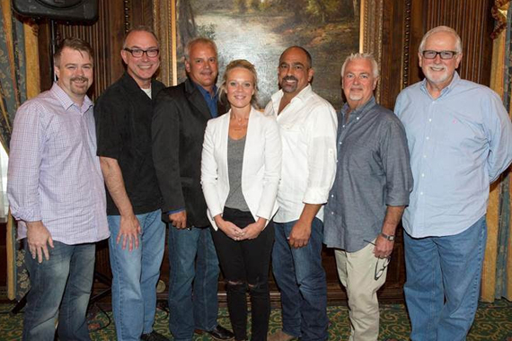 PHOTO (L-R): ACM Vice President Ben Vaughn, ACM President Ken Tucker, ACM Treasurer Duane Clark, ACM Secretary Tiffany Moon, ACM Chairman of the Board Paul Barnabee, ACM Parliamentarian Paul Moore, ACM Sergeant-at-Arms Tim DuBois.