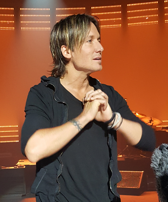 Keith Urban Ripcord Rehearsal. Photo: Moments By Moser Photography