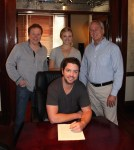 Nick Donley Inks With MV2 Entertainment