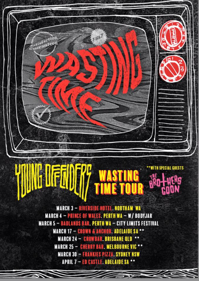 young offenders tour poster