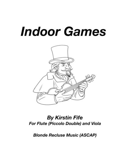 Indoor Games For Flute And Viola Free Music Sheet