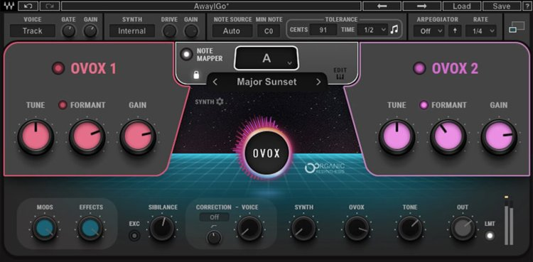 waves ovox vocal synth