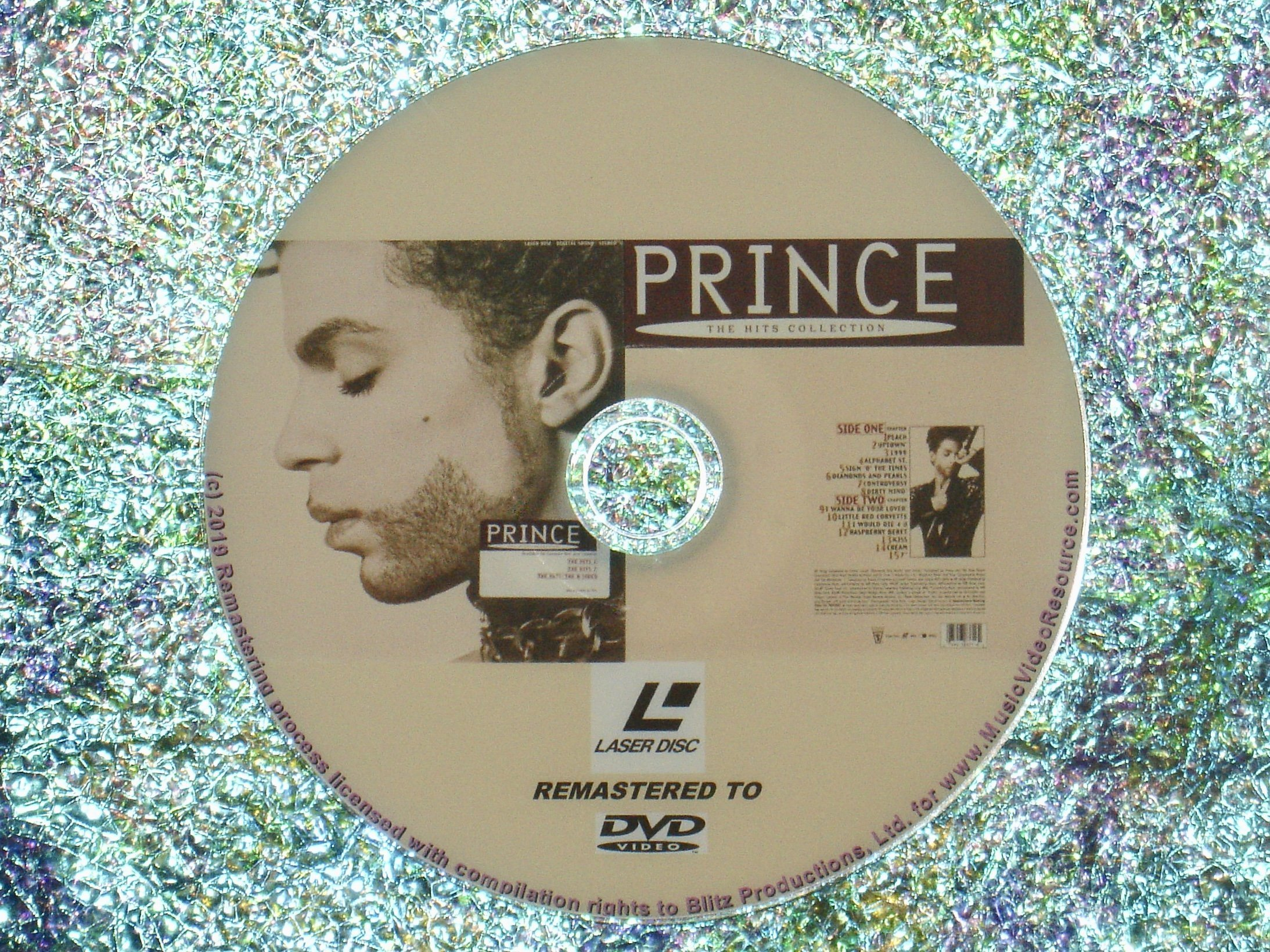 PRINCE The Hits Collection (1993) (Remaster from LaserDisc to DVD)