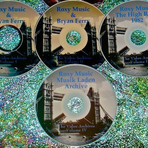 Bryan Ferry / Roxy Music: Video Archives 1982-1999 (4 DVD Set 7.5 Hours)