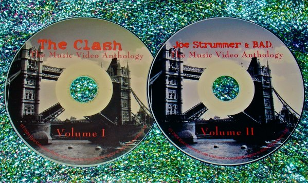 The Clash, Big Audio Dynamite (B.A.D.) & Joe Strummer Music Video Anthology (2 DVD Set 4 Hours)