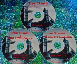 The Clash, Big Audio Dynamite (B.A.D.) & Joe Strummer The Video Archives Collection 1979-2001 (3 DVD Set 5.5 Hrs.)