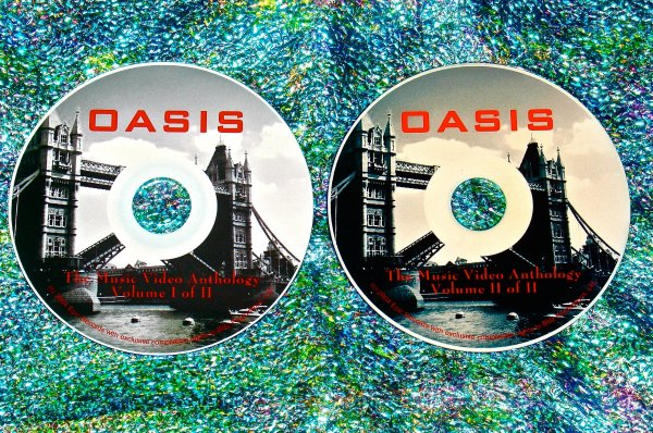 Oasis Music Video Anthology 1993-2010 & 2 EPK's (2 DVD Set 2 Hrs. 40 Mins.) UPDATED!!