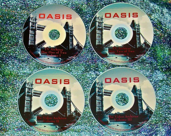 Oasis The Video Archives 1993-2008 (4 DVD Set - 6.5 Hrs.)