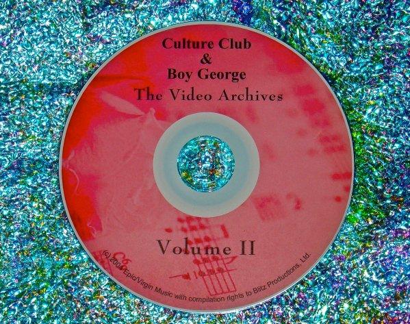 Culture Club & Boy George Video Archives 1998-1999 Volume II