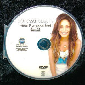 VANESSA HUDGENS Visual Promotion Music Video DVD Reel includes 23 Music Videos with Zac Efron, Ashley Tisdale and MORE!!