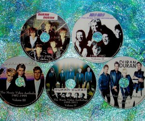 """Duran Duran, Powerstation, Arcadia, John, Andy Solo, Neurotic Outsiders & The Devils Music Video Anthology & Music Video Remix 1981-2016 (5 DVD Set just OVER 9 Hours) includes """"Last Night In The City"""", """"Pressure Off"""", GIRL PANIC! (4 Vers) SUNRISE (6 Vers)"""