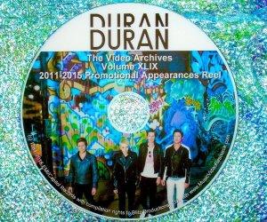 DURAN DURAN – The Video Archives 2011-2015 VOLUME XLIX Paper Gods