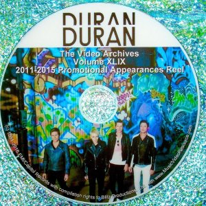 DURAN DURAN – The Video Archives 2011-2015 VOLUME XLIX Paper Gods