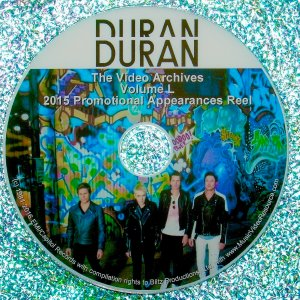 "DURAN DURAN – The Video Archives 2015 ""Paper Gods"" VOLUME L"