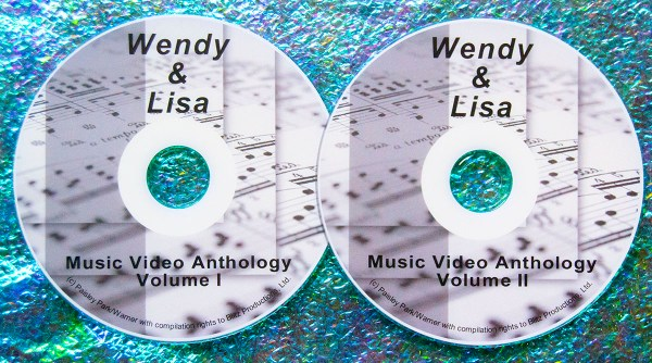 Wendy and Lisa Music Video Anthology PRINCE (2 DVD Set 4 Hrs.)