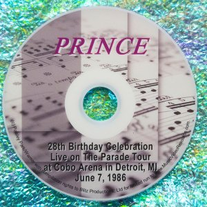 Prince's 28th Birthday Live at Cobo Arena, Detroit, MI June 7, 1986 (with Bonus Material)