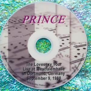 Prince Lovesexy Tour Live in Dortmund, Germany, September 9, 1988