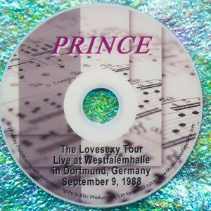 Prince Lovesexy Tour Live in Dortmund, Germany, September 9, 1988
