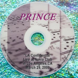 "Prince ""LA Confidential Live"" at Club Nokia in Los Angeles, California March 29, 2009 (Currently only available as part of a pricey box set. Buy just the DVD now.)"