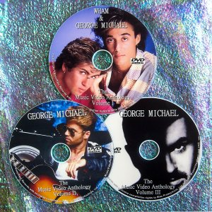 Wham / George Michael Music Video & Remix Anthology 1982-2014 (3 DVD 63 Music Videos-5 HOURS)