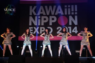 KAWAii!! NiPPON EXPOで熱唱した9nine<1>