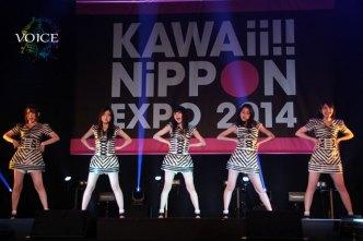 KAWAii!! NiPPON EXPOで熱唱した9nine<1>