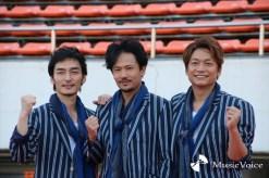 パラリンピックサポートセンタースペシャルサポーターの香取慎吾、草なぎ剛、稲垣吾郎