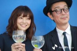 リリー・フランキーと倉科カナ(撮影=桂 伸也)