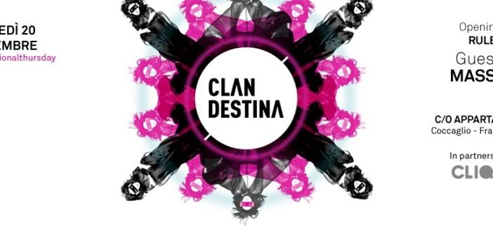 Clandestina Private Party - 20 Novembre, Appartamento 11, Coccaglio (BS)