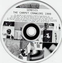 Genesis:The Carpet Crawlers 1999 - Single-CD, 1999