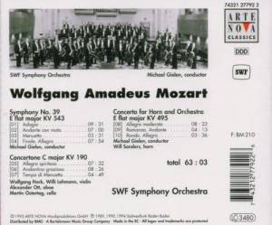 Wolfgang Amadeus Mozart: Symphony No. 39 KV 543