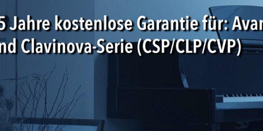Garantie Clavinova Serie Musikhaus Beck