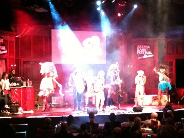 Bonaparte @Ray's Reeperbahn Revue
