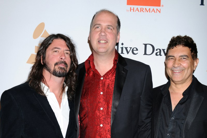 Dave Grohl, Krist Novoselic, Pat Smear (Credit Broadimage/Shutterstock)
