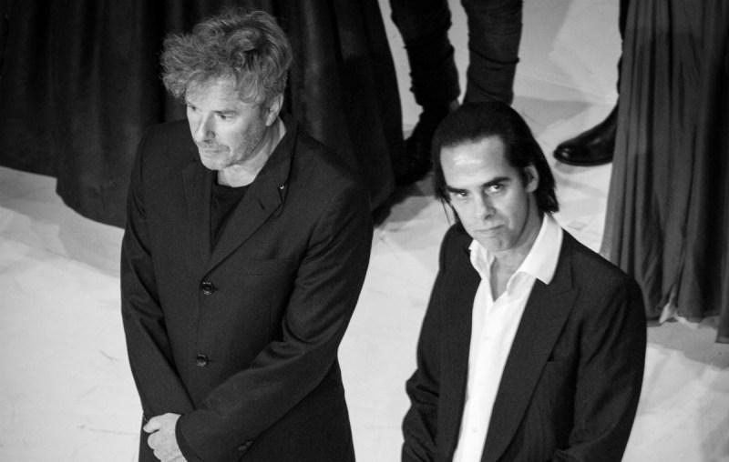 Nick Cave & Nicholas Lens (Credit Fabrice Giraud)