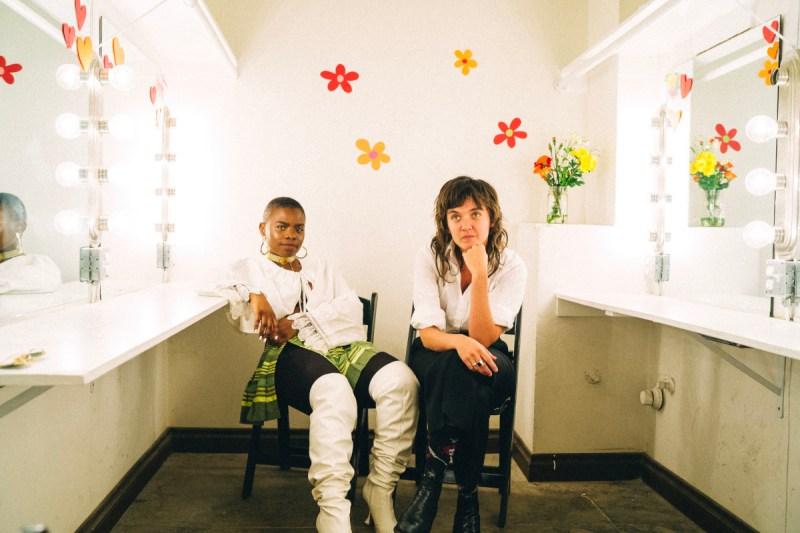 Vagabon & Courtney Barnett (Credit Pooneh Ghana)