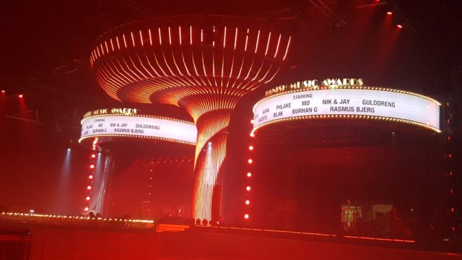 Danish Music Award 2016 fra Forum, København.