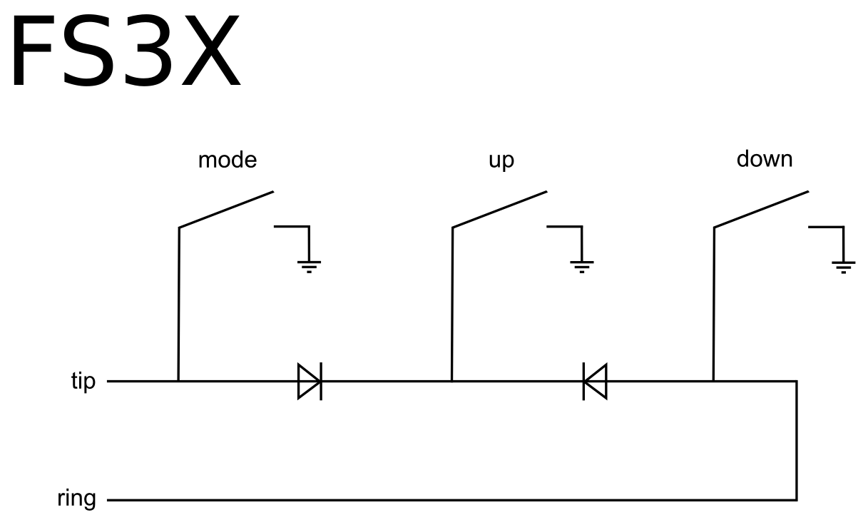 Footswitch Wiring Diagram