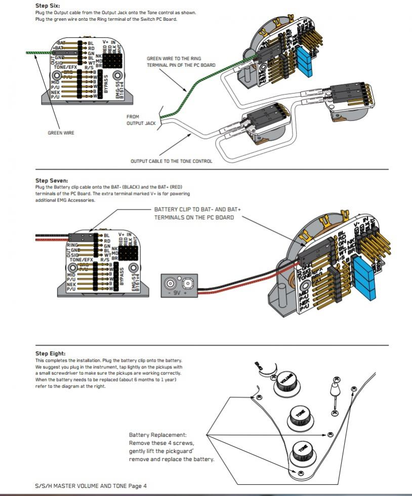 Jay Turser Les Paul Wiring Pickup Diagram
