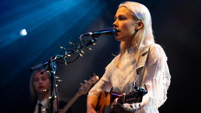 Phoebe Bridgers beim Greenman Festival im August 2018 in Wales.